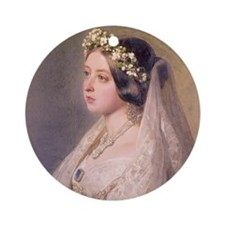 Queen Victoria Ornament (Round)