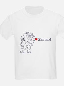 Blue Love England T-Shirt
