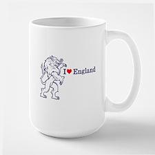 Blue Love England Mug