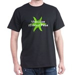 Whirled Peas Black T-Shirt