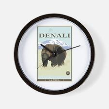 National Parks - Denali Wall Clock