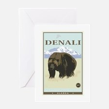 National Parks - Denali Greeting Card