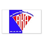 American Kitefliers Associati Sticker (Rectangle)