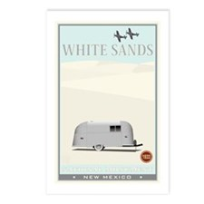 National Parks - White Sands 1 Postcards (Package