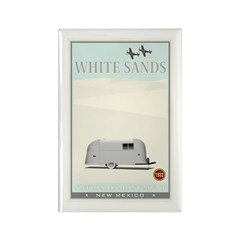 National Parks - White Sands 1 Rectangle Magnet (1