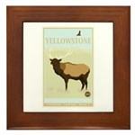 National Parks - Yellowstone Framed Tile