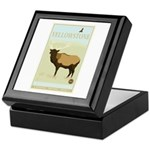 National Parks - Yellowstone Keepsake Box