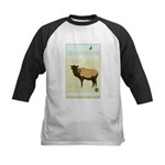 National Parks - Yellowstone Kids Baseball Jersey