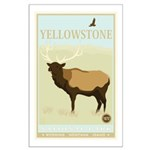 National Parks - Yellowstone Large Poster
