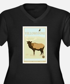 National Parks - Yellowstone Women's Plus Size V-N