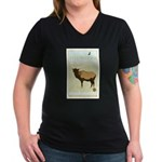 National Parks - Yellowstone Women's V-Neck Dark T