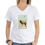 National Parks - Yellowstone Women's V-Neck T-Shir