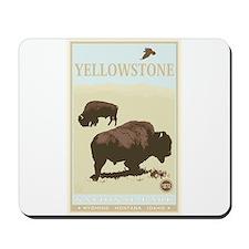 National Parks - Yellowstone Mousepad