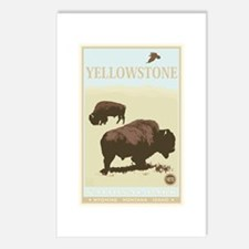 National Parks - Yellowstone Postcards (Package of