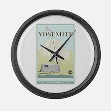 National Parks - Yosemite Large Wall Clock