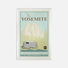 National Parks - Yosemite Rectangle Magnet