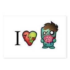 I <3 Brains Postcards (Package of 8)