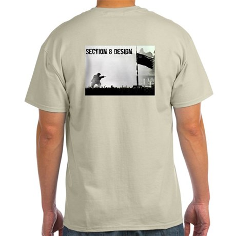 Section 8 Flag Ash Grey T-Shirt