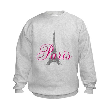 I Love Paris Kids Sweatshirt