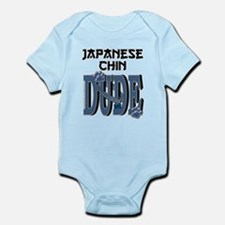 Japanese Chin DUDE Infant Bodysuit