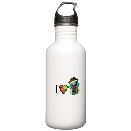 I <3 Cardio Stainless Water Bottle 1.0L