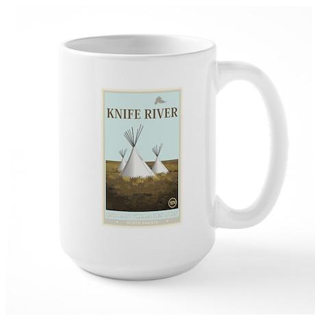 National Parks - Knife River Large Mug