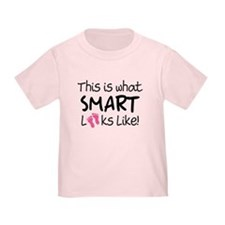What Smart Looks Like Girls T