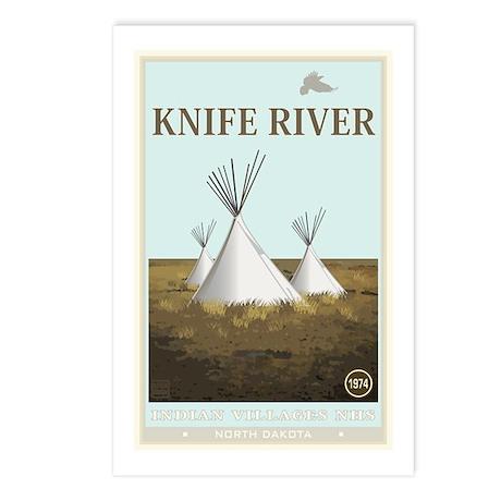 National Parks - Knife River Postcards (Package of