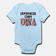 Japanese Chin DIVA Infant Bodysuit