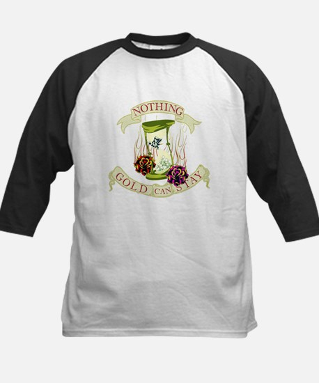 Nothing Gold Can Stay Kids Baseball Jersey