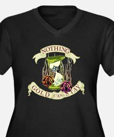 Nothing Gold Can Stay Women's Plus Size V-Neck Dar