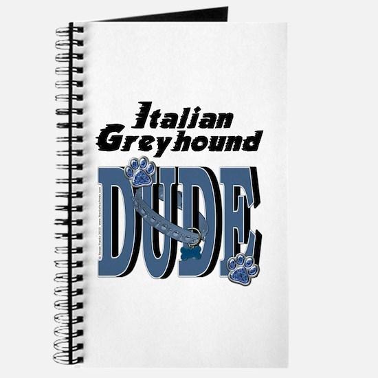 Italian Greyhound DUDE Journal