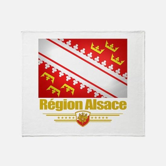 Alsace Region Throw Blanket