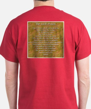 The Lord's Prayer White T-Shirt