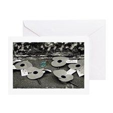 ANZAC Poppies & Medal Greeting Card