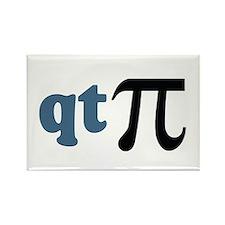 Math Humor Cute T Pi Rectangle Magnet (100 pack)