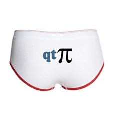 Math Humor Cute T Pi Women's Boy Brief