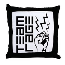 Cupsthermosreviewcomplete Throw Pillow