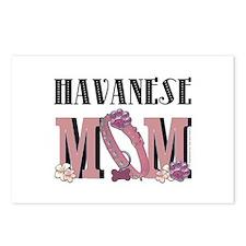 Havanese MOM Postcards (Package of 8)