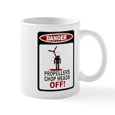 Skydiver - Propeller Accident Mug