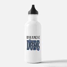 Havanese DUDE Water Bottle