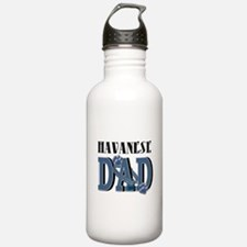 Havanese DAD Water Bottle