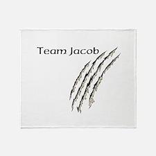 Cute Team jacob Throw Blanket
