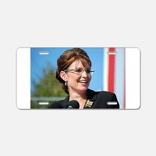 Sarah Palin Aluminum License Plate