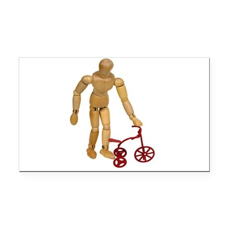 ChildTricycle112409.png Rectangle Car Magnet