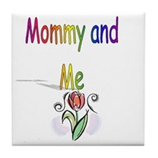 Mommy and Me Tile Coaster