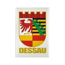 Dessau Rectangle Magnet