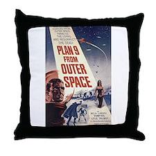 Plan 9 Throw Pillow