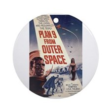 Plan 9 Ornament (Round)