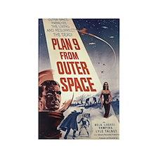 Plan 9 Rectangle Magnet (100 pack)